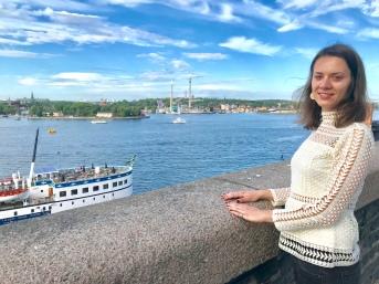 """Горяна Търницова,социален работник и медиатор вЦентър за подкрепа на жертви """"Бъдеще Стокхолм"""",гр. Стокхолм."""
