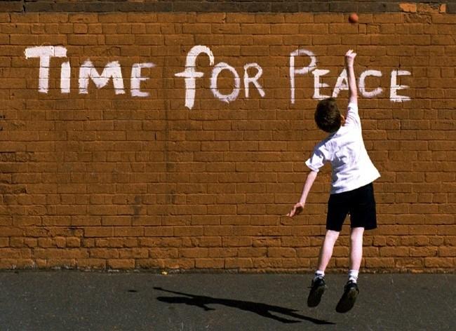 """Time For Peace"" е фотография на Crispin Rodwell"